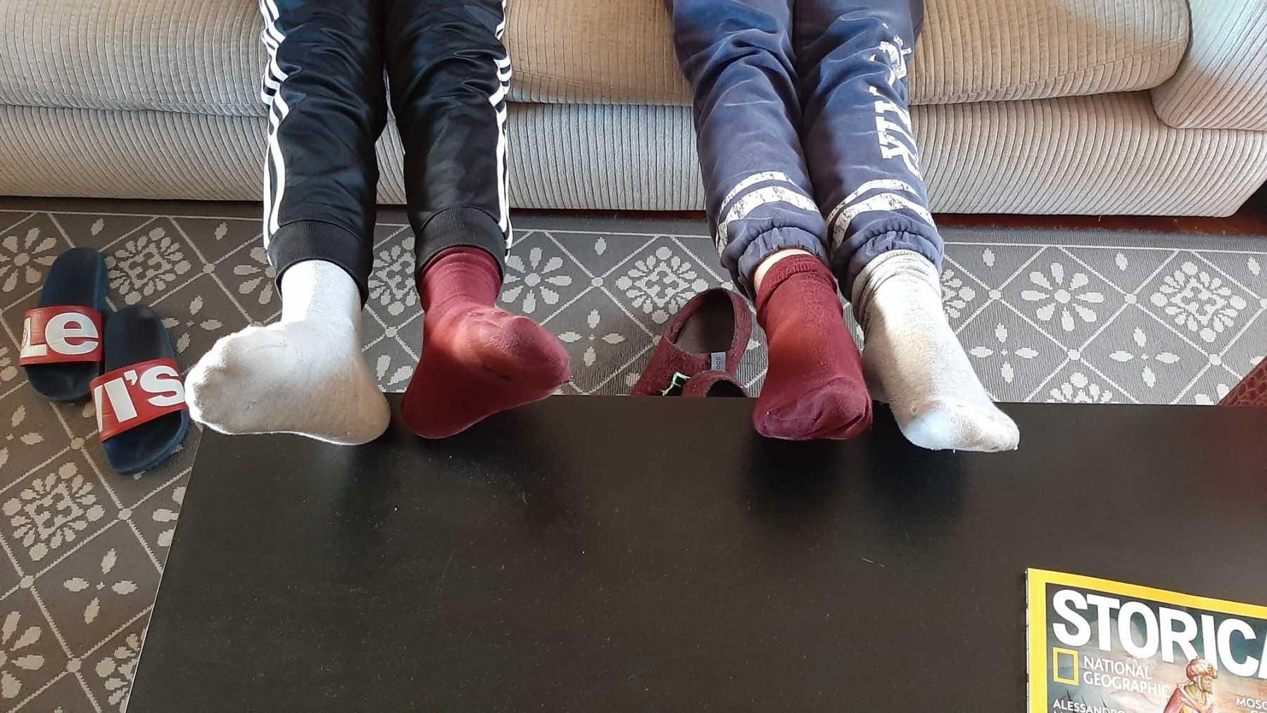 I nostri calzini spaiati