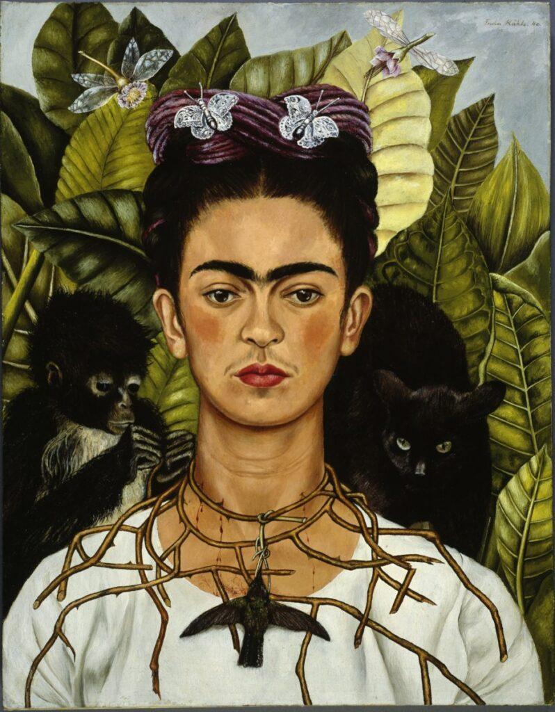 Frida Kahlo - Autoritratto con collana di spine