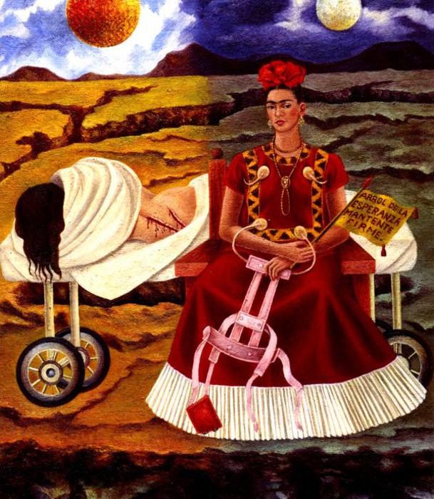 Frida Kahlo - L'albero della vita resta saldo