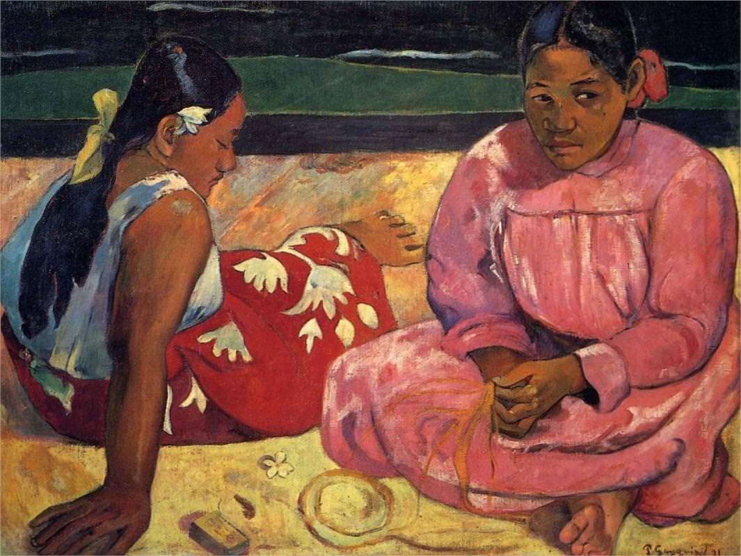 Donne-di-Tahiti-1891-di-Paul-Gauguin