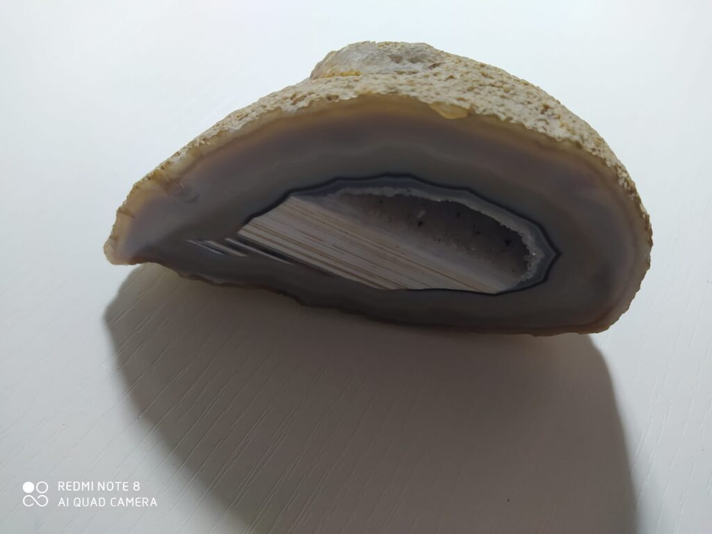Geode di Calcedonia