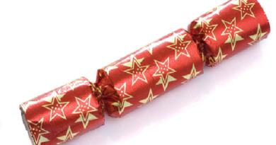 immagine di un Christmas cracker