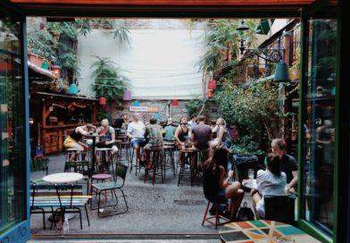 Un imperdibile pub di Budapest