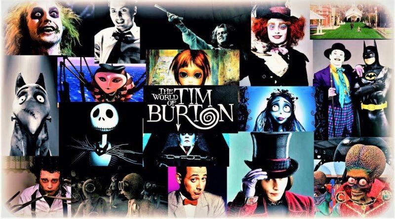 Un perfetto visionario e amante del gotico: Tim Burton