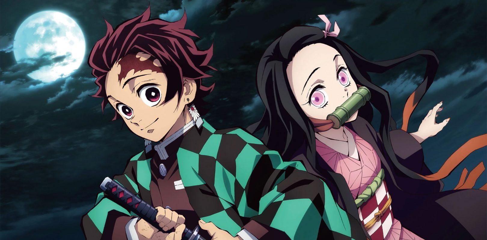 Immagine di Tanjiro e Nezuko. Fonte animegamers.it